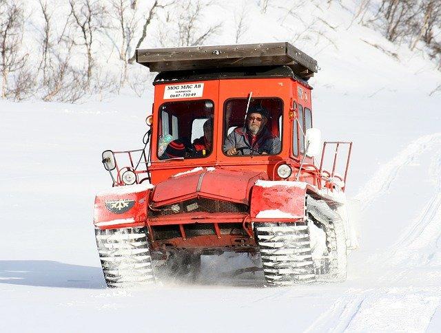vůz horské služby