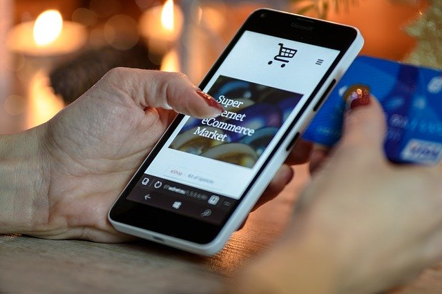 nákupy přes mobil