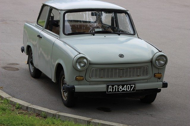 starý trabant