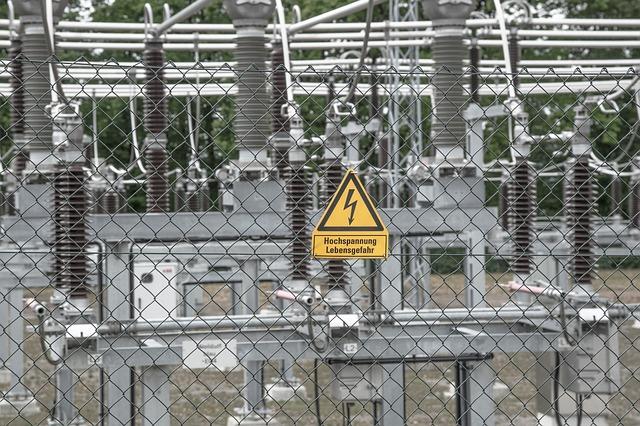 Rozvodna elektrické energie