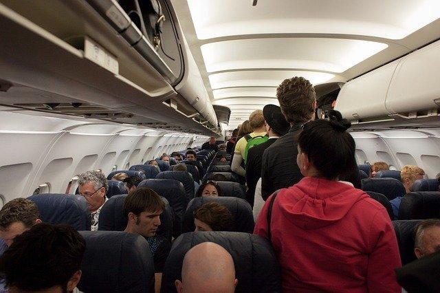 ulička v letadle
