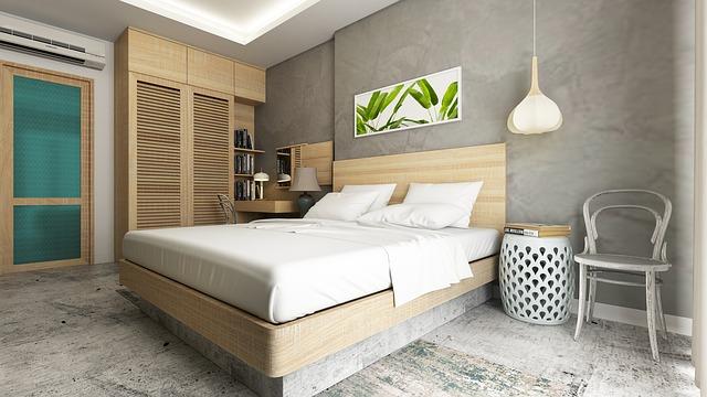 moderní interiér – ložnice