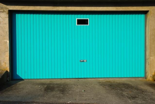 velká zelená vrata