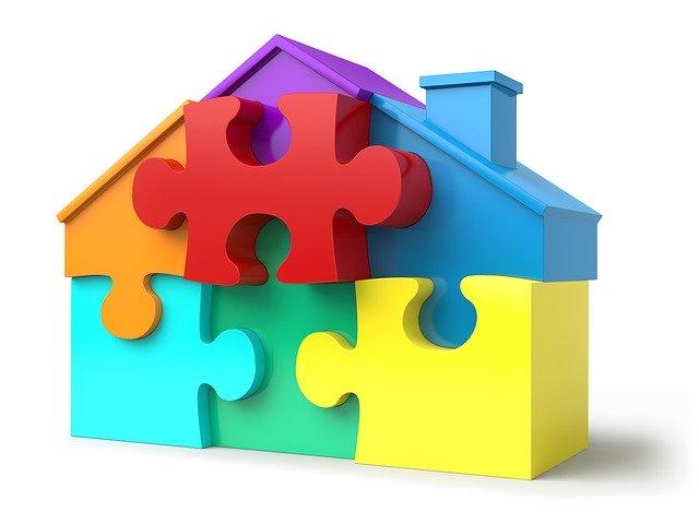 Domek z puzzlí
