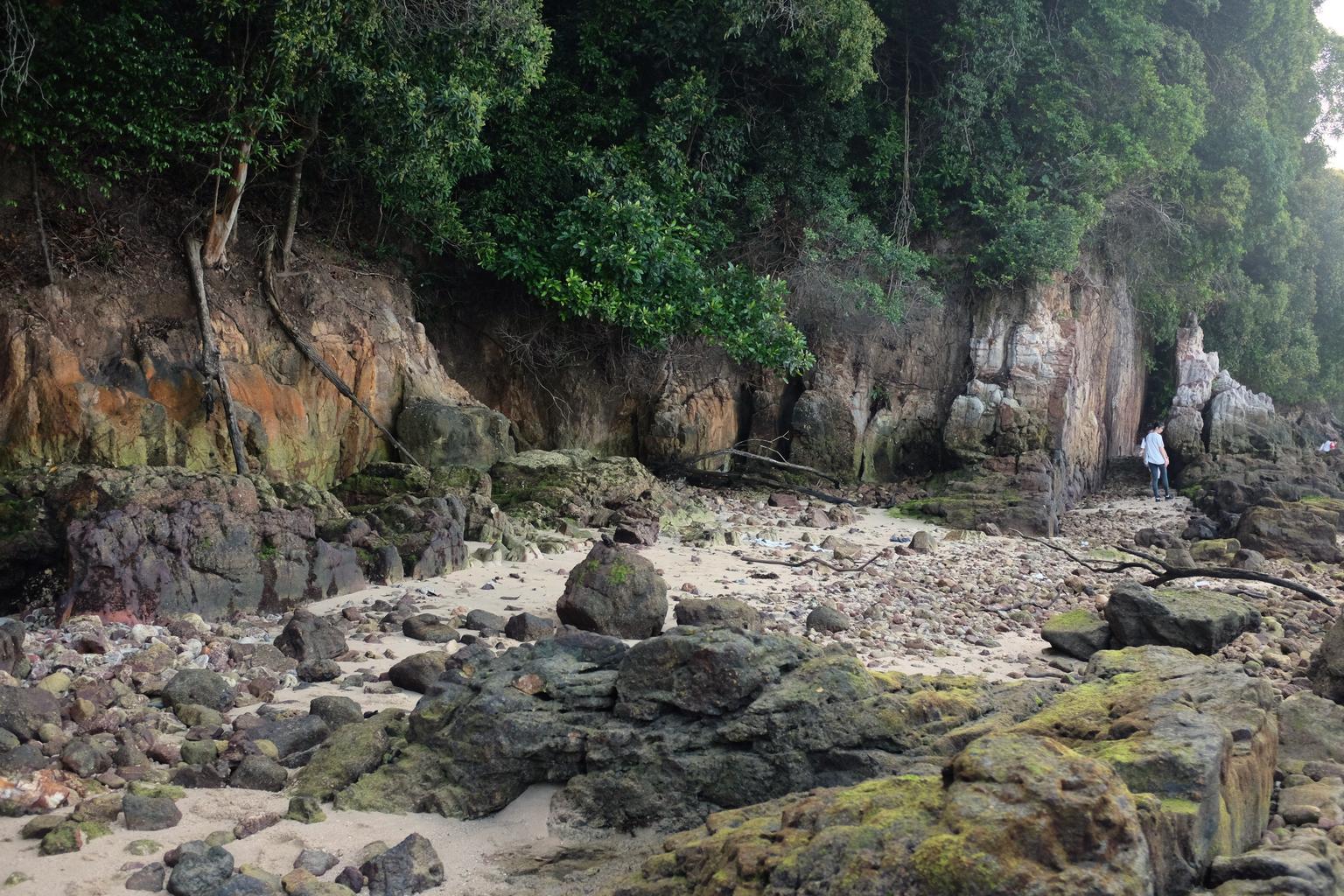 skalnatá krajina